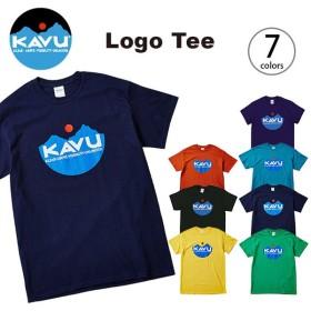 カブー ロゴTee  | 正規品 | KAVU Tシャツ 半袖 男性 メンズ Logo Tee フェス イベント 音楽 野外