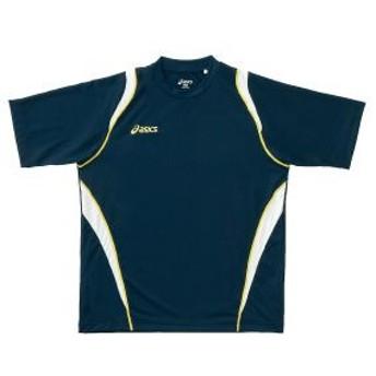 アシックス asics tシャツ xa6122 カラー:ネイビー 50 トレーニングシャツ ウェア