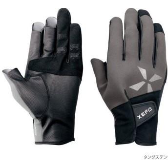 シマノ XEFO・クロロプレンEXSロンググローブ ブラック M