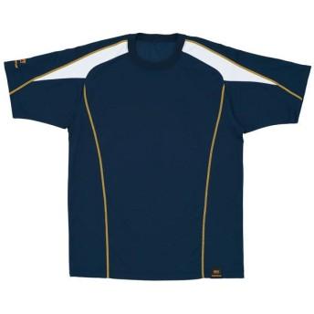 ZETT(ゼット) 野球 プロステイタス ベースボールシャツ BOT800 2911 ネイビー×ホワイト O