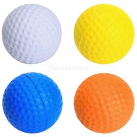 12 PUフォームゴルフ練習ボール屋内/屋外ゴルファーのクラブのショットの練習を助けます