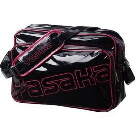 ヤサカ Yasaka 卓球 スライミーエナメルバッグ H154 ブラック×ピンク 20