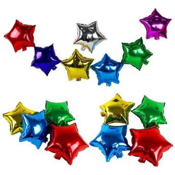 バルーン 風船 5インチ イベント パーティー アルミバルーン 星型 スター 結婚式 誕生日 お祝い かわいい キュート おしゃれ 飾り パーティー雑