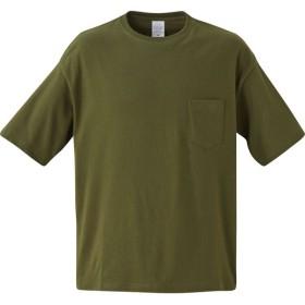 UnitedAthle ユナイテッドアスレ 5.6オンス ビッグシルエットTシャツ 500801 シティグリーン