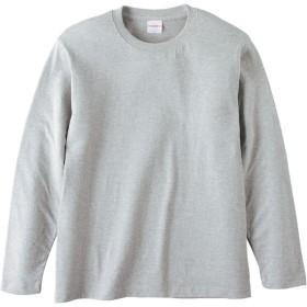 UnitedAthle ユナイテッドアスレ 5.6オンス ロングスリーブTシャツ(アダルト) 501001C ミックスグレー