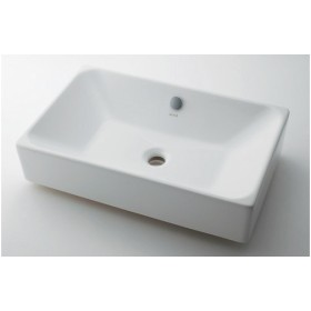 カクダイ #VR-4434B0030012 KAKUDAI 角型洗面器