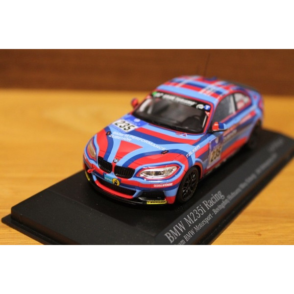 MINICHAMPS 1/43 BMW M 235I レーシング TEAM BMW