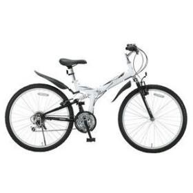 レイチェル RAYCHELL 折りたたみ自転車 MTB-2618R-WH ホワイト