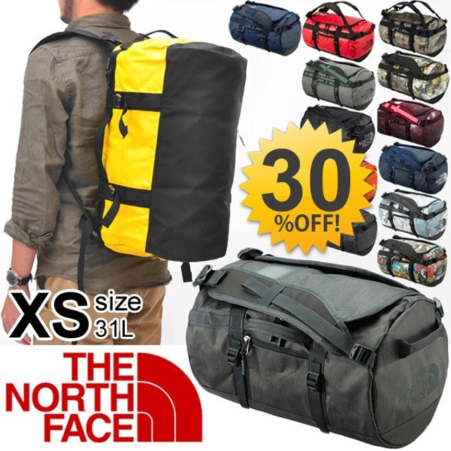 ダッフルバッグ THE NORTH FACE ベースキャンプ ザ・ノースフェイス BCシリーズ ボストンバッグ バックパック アウトドア メンズ レディース XSサイズ/NM81555
