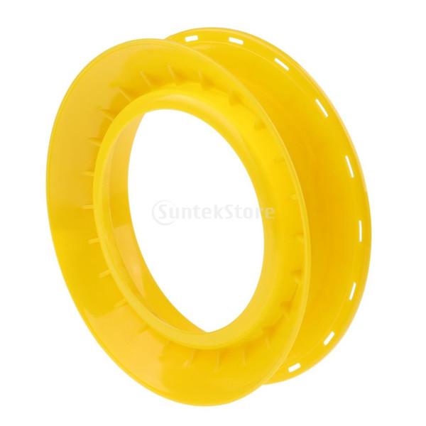 For Fishing Reels Reel Grips Slip on Reel Handle Grip Covers = Yellow