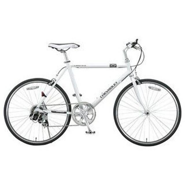 シボレー CHEVROLET クロスバイク 自転車 CHEVYAL-TR246OT-WH ホワイト