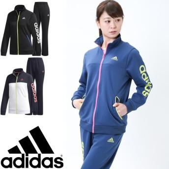 ジャージ 上下セット レディース/アディダス adidas TEAM リニア/トレーニングウェア ジャケット パンツ/EUA68-EUA64