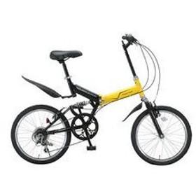 レイチェル RAYCHELL 折畳自転車 MFWS-206R-YEBK イエロー&ブラック