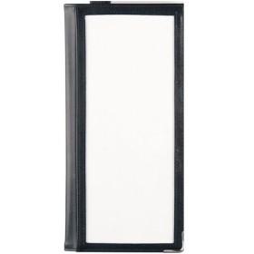 合皮ドリンクメニューファイル ブラック PDL3001