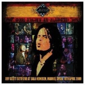 ジェフ・スコット・ソート/One Night In Madrid 【CD+DVD】