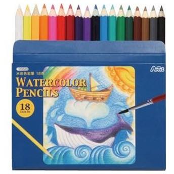 (まとめ)アーテック 水彩色鉛筆18色 〔×40セット〕