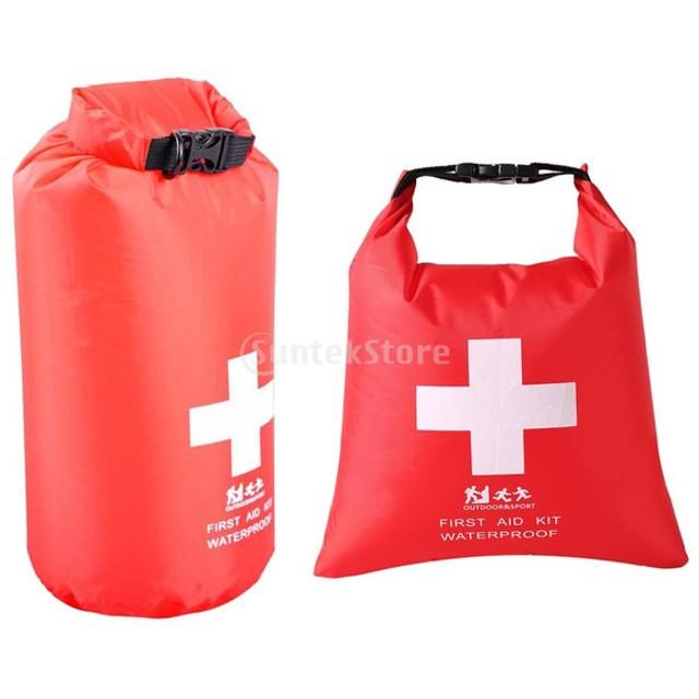 1.2L /5L 防水 ファーストエイドキット 救急バッグ サック ドライバッグ トラベル キャンプ ハイキング用