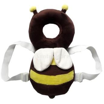 ノーブランド品 全2パタン ベビーセーフティ パッド 幼児 ヘッド保護 プロテクター 保護枕 クッション - パタン2
