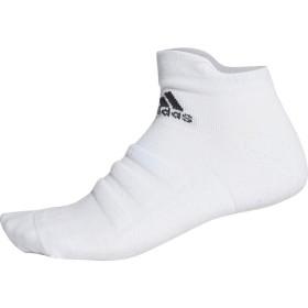 adidas(アディダス) ALPHASKIN ハーフクッションショートソックス ECE79 WHT/BLK