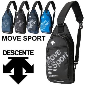 ボディバッグ メンズ レディース デサント DESCENTE Move Sport スポーツバッグ 3L/ワンショルダーバッグ 斜め掛け かばん カジュアル 移動バッグ/DMALJA06