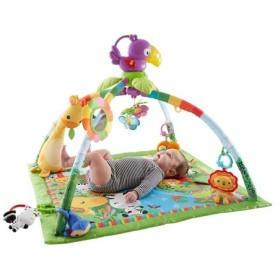 フィッシャープライス レインフォレスト デラックスジム II  おもちゃ こども 子供 知育 勉強 ベビー 0歳
