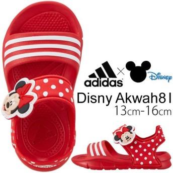 キッズサンダル シューズ ベビー ミニー adidas アディダス ディズニー Disney 女児 ベビー靴 子供靴 13cm-16cm/G97790