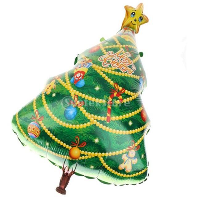 大飾ら クリスマスツリー バルーン メリークリスマス ホームパーティー アクセサリー 風船 飾り物