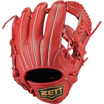 ZETT ゼット ソフトボール3号用グラブ デュアルキャッチ オールラウンド BSGB53810 レッド