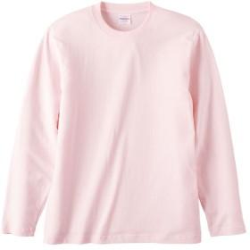 UnitedAthle ユナイテッドアスレ 5.6オンス ロングスリーブTシャツ(アダルト) 501001C ベビーピンク