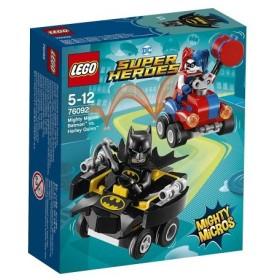 LEGO 76092 スーパー・ヒーローズ マイティマイクロ:バットマン vs. ハーレイ・クイン  おもちゃ こども 子供 レゴ ブロック 5歳