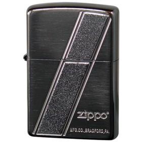 ジッポ ZIPPO Line of Lame Metal メンズ ライター 喫煙具 2LML-BN ブラック