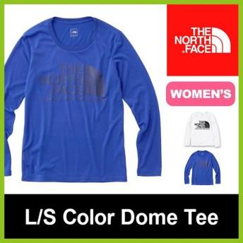 ノースフェイス L/S カラードームT | ウィメンズ | 正規品 | THE NORTH FACE NTW81520 ロゴTシャツ ロン フェス