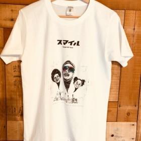 「スマイルプロダクト」手刺繍Tシャツ