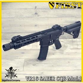 VFC VR16 SABER CQB Mod1 BK 電動ガン VF1-M4-SABER-S-BK01 ブラック エアガン 18歳 201804Shorty
