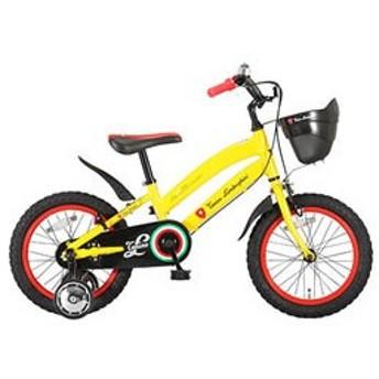 ランボルギーニ LAMBORGHINI 子供用 自転車 LAM-KIDS16AL-YE イエロー 代引不可