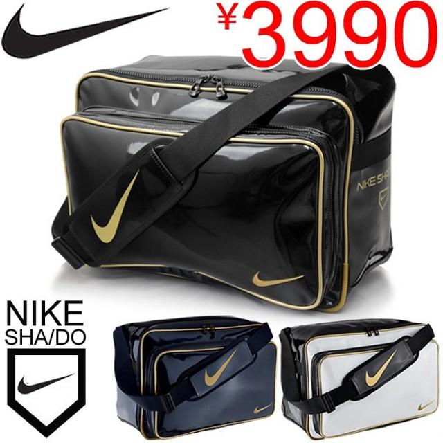 エナメルバッグ ナイキ NIKE 野球  ダイヤモンド エッジ SHA/DO PU スポーツバッグ ショルダー 部活 BA4952