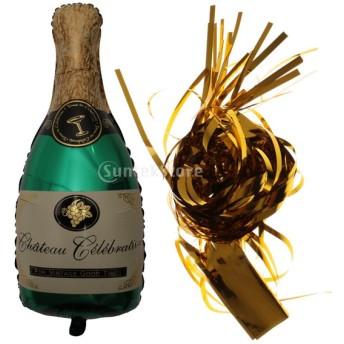 パーティー小物 バルーン タッセル 飾り 2種類 - ワインボトル
