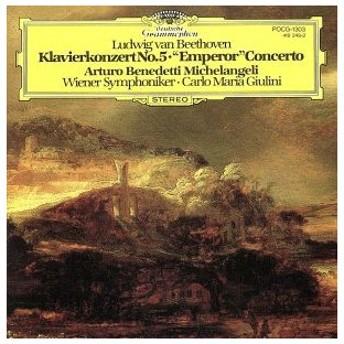 ベートーヴェン:ピアノ協奏曲第5番/ミケランジェリ
