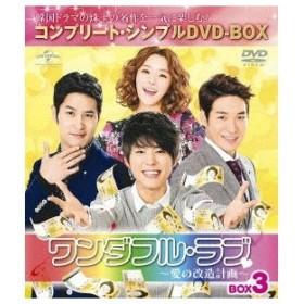 ワンダフル・ラブ〜愛の改造計画〜 BOX3 <コンプリート・シンプルDVD-BOX> (期間限定) 【DVD】