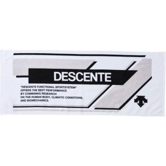 デサント DESCENTE プリントフェイスタオル DMALJE02 WHBK