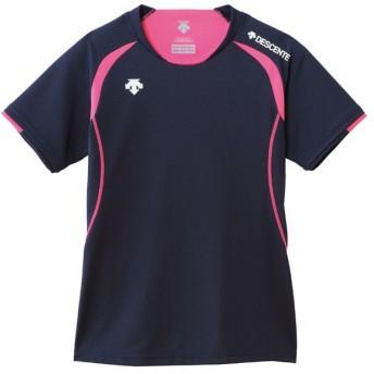 デサント(DESCENTE) 半袖ライトゲームシャツ(WOMEN'S) DSS5421W ネイビー