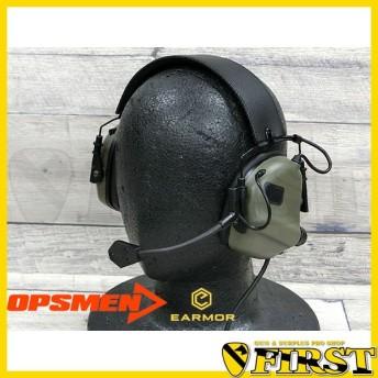 OPSMEN M32 ヘッドセット フォリッジグリーン FG 無線 サバゲ チーム ラジオ オプスメン