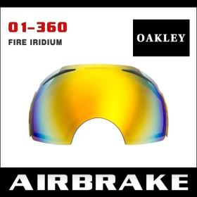 オークリー エアブレイク ゴーグル 交換レンズ 01-360 OAKLEY AIRBRAKE スノーゴーグル FIRE IRIDIUM