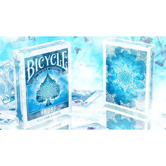 フロースト・デック(バイスクル)/Bicycle Frost Playing Cards  by Collectable Playing Cards