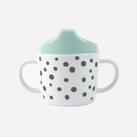 【人気】Done by Deer/2ハンドルスパウトカップ ハッピードット Spout cup Happy dots ダンバイディア ベビー食器 北欧