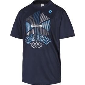 CONVERSE(コンバース) プリントTシャツ メンズ バスケットボールウェア CB281313 ネイビー