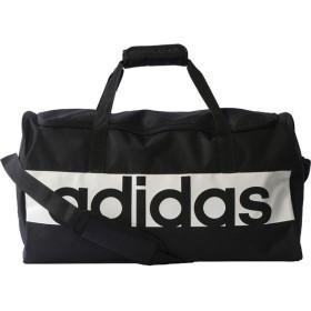 adidas(アディダス) リニアロゴチームバッグ(M) BVB06 【カラー】ブラック×ブラック×ホワイト 【サイズ】M
