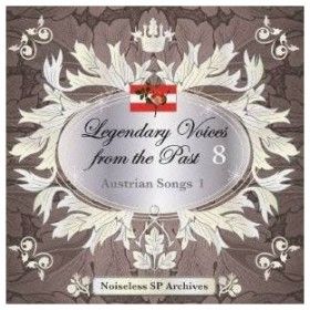 (クラシック)/伝説の歌声 8 オーストリア歌曲集 I 【CD】