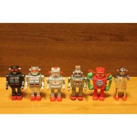 ティントイロボット NO1〜NO6の6体セット