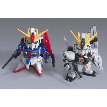 バンダイ BB戦士 ゼータガンダム&νガンダム(HWS仕様) プラモデル(X0441)